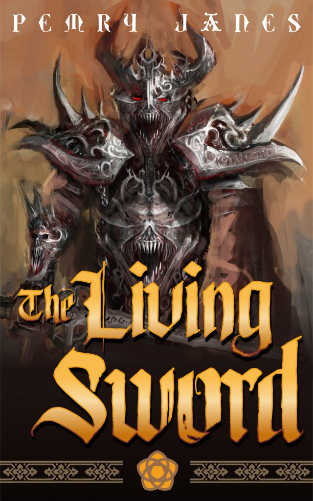 Cover of The Living Sword